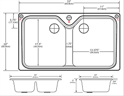 typical kitchen sink size inspirational sink kitchen sink dimensionsnches standard double pics of typical kitchen sink