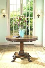 foyer table ideas traditional round entry table inspiring design for round foyer tables ideas round foyer