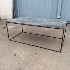 Slate top coffee table Oak Slate Top Coffee Table Nadeau Slate Top Coffee Table Nadeau Houston
