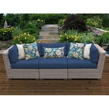patio sofa outdoor sofa wicker patio