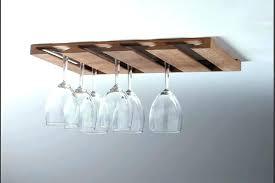 stemware rack ikea hanging wine glass holder hanging stemware rack stemware