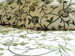 green gingham duvet cover crewel bedding throws leaves green on whitelight and white duvet cover lime