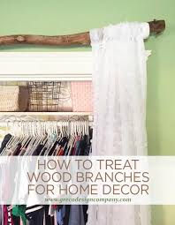 how to treat wood branches for home decor, home decor, how to