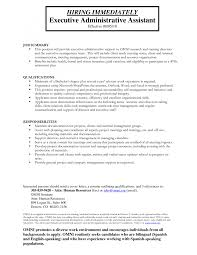 admin asst resume objective examples cipanewsletter cover letter resume objective for executive assistant executive