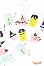 Avery Gift Tags Bobby Pin Halloween Gift Tags
