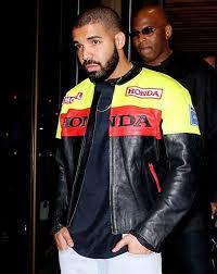 drake graham wore honda biker jacket