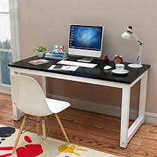 Wood and metal computer desk Pipe Image Unavailable Amazoncom Amazoncom Yaheetech Simple Computer Desk Pc Laptop Writing Study
