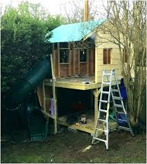 picture of backyard fort simple plans