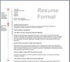 Of Resume Format 40 R 40 Simple So Written Formal Template Well Mesmerizing Well Written Resume