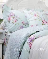 aqua mint pink vintage roses duvet comforter cover set from 229 95