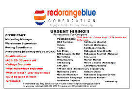 promodiser s and marketing manager hr manager and more job updated