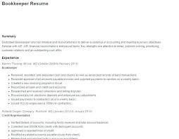 Sample Bookkeeper Resume Best of Sample Resume For Bookkeeper Bookkeeper Resume Sample Excellent