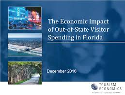 florida releases economic impact of or spending study today florida released a new economic impact of out of state or spending in florida study which shows a rise in spending revenue and jobs