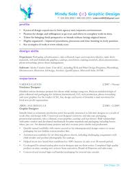 example of graphic design resume graphic design resume sample cover letter graphic  designer resume .
