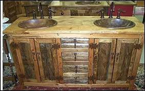 rustic bathroom double vanities. Fine Rustic Limited Range And Pricey Options Could Make It A Difficult Option To Go  For However Considering Their Uniqueness Different Outlook On An Entire Area  And Rustic Bathroom Double Vanities