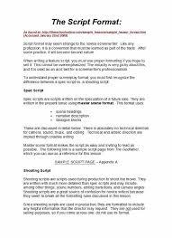Format Template 37 Creative Screenplay Templates Screenplay Format Guide