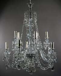 antique chandeliers 10 branch antique bohemian crystal chandelier fritz fryer