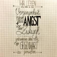 Wandbild Mit Spruch Handlettering Deutsch Sprüche Drawing Zukunft