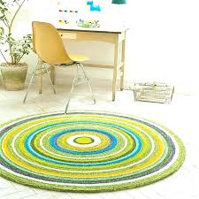 green round rug circle lime rugs mint forest rugby shirt hampen ikea
