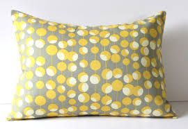Image Room G633 Yellow Decorative Pillows