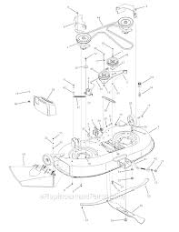 troy bilt 13an77kg011 (pony) parts list and diagram (2008 troy-bilt solenoid wiring diagram at Troy Bilt Pony Wiring Schematic