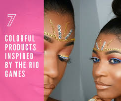 7 colorful make up s inspired by the rio games