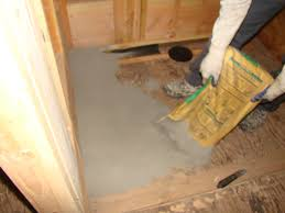 bathroom remodeling and hot mopping
