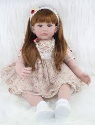 <b>60cm Silicone Reborn Babies Dolls</b> Toy Like Real Vinyl Princess ...