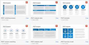 Pest Analysis Template The Best Free Pest Diagram Powerpoint Templates Present Better