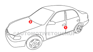 2014 Mazda 3 Color Chart Mazda Paint Code Locations Touch Up Paint Automotivetouchup