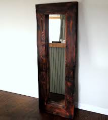 ideas wood frame full length mirror  doherty house  ideal wood
