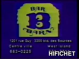 bar b barn publicité québec you