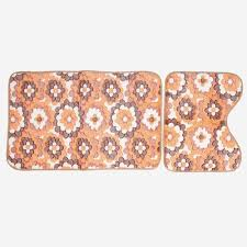 Bathroom  Mesmerizing Patterned Towels Colorful Bath Towels Coral Color Bathroom Decor