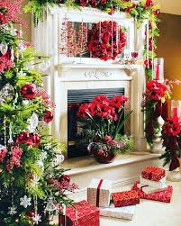 Christmas Fireplace Mantel Decoration Ideas For Home Made Pictures Christmas Fireplace Mantel