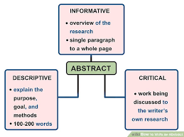 how to write an abstract examples wikihow image titled write an abstract step 4