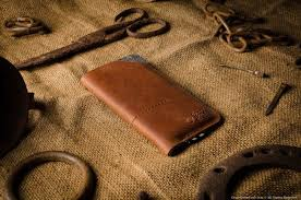 crazyhorse leather iphone 7 wallet sleeve