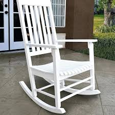 porch rocking chairs white wood porch rocking chair on patio outdoor rocking chairs canadian tire