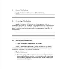 Corporate Business Plan Template Business Plans Template And Samples Template Guide