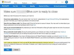 how to permanently delete your hotmail