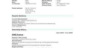 Curriculum Vitae Resume Samples Pdf Current Resume Format Templates