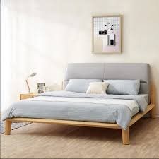korean furniture design. Korean Designer Wood Leather Bed 1.5 M By 1.8 Soft Marriage Double New North European Style Arts-in Beds From Furniture On Design E