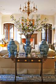 chinese chinoiserie vase blue and white decorating branches living room  better decorating bible blog how to