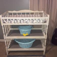 Find More Vintage Style Distressed Changing Table With New