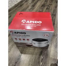 Bình luận Nồi cơm điện tử Rapido RC-1.2D - Bảo hành 1 năm