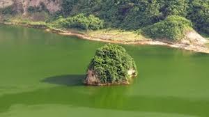 Una isla en un lago en una isla en un lago en una isla
