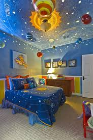 boys blue bedroom. Contemporary Boys Bedroom Solar System Decoration By Hobus Homes Blue R