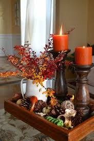 Cheap easy fall decorating ideas Thanksgiving 11 Fill Tray Homedit 30 Festive Fall Table Decor Ideas