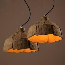 handmade lighting fixtures. Retro Creative Cement Chandelier Dining Room Hanging Lamps Fixtures  Handmade Lighting-in Pendant Lights From \u0026 Lighting On Aliexpress.com | Alibaba Lighting Fixtures P