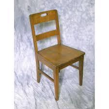 antique wood school desk chair