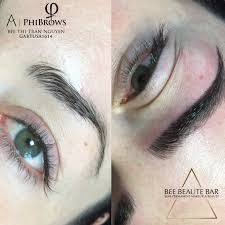 by appointments only owner of bee beaute bar certified trained by phibrows from phi academy deluxe brows based in san francisco california bay area